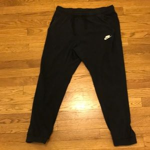 Nike All black sweat pants/joggers